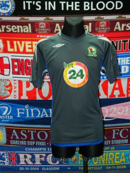 Blackburn Rovers Third baju bolasepak 2007 - 2008