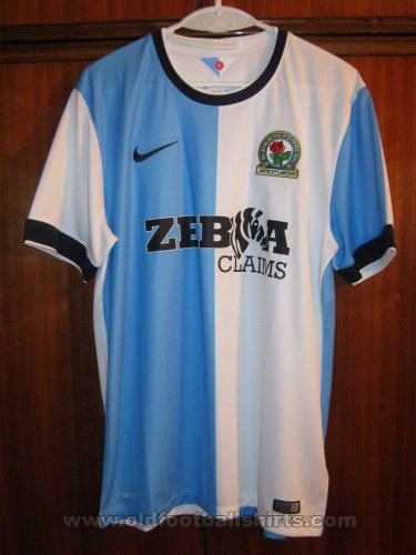 Blackburn Rovers Home Fußball-Trikots 2014 - 2015