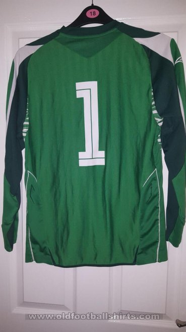 Blackburn Rovers Goalkeeper football shirt 2007 - 2008