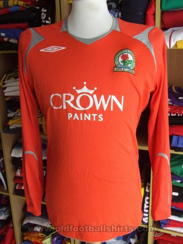 Blackburn Rovers Gardien de but Maillot de foot 2007 - 2008