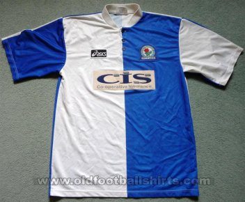 Blackburn Rovers Home football shirt 1996 - 1998