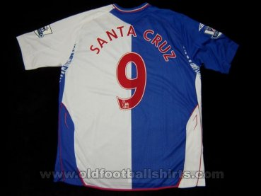 Blackburn Rovers Home baju bolasepak 2007 - 2008