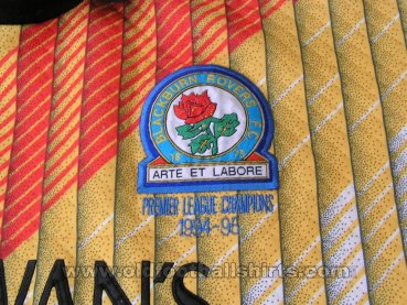 Blackburn Rovers Gardien de but Maillot de foot 1994 - 1995