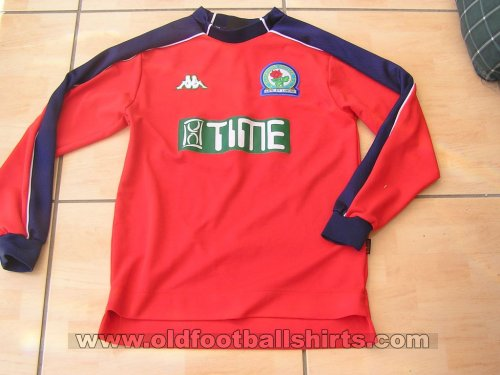 Blackburn Rovers Goalkeeper football shirt 2001 - 2002