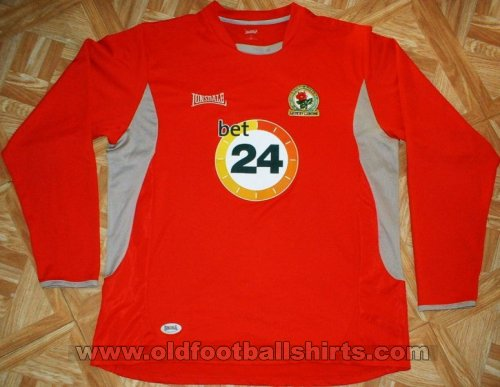 Blackburn Rovers Away Camiseta de Fútbol 2006 - 2007