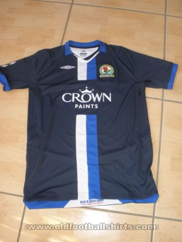 Blackburn Rovers Away football shirt 2008 - 2009