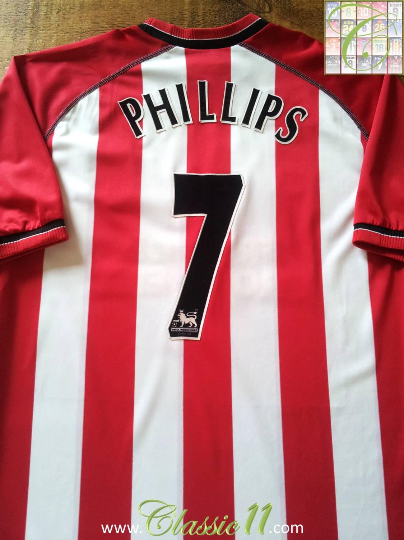 save off 2810f 82d44 Southampton Home Camiseta de Fútbol 2003 - 2005. Sponsored ...