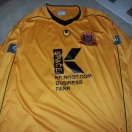 Carrick Rangers football shirt 2012 - ?