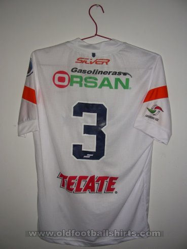 Delfines del Carmen Away football shirt 2014