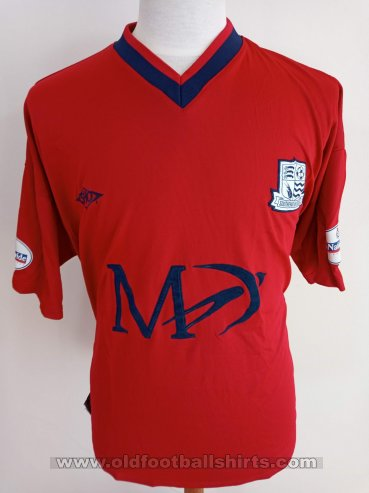 Southend United Away football shirt 2002 - 2003