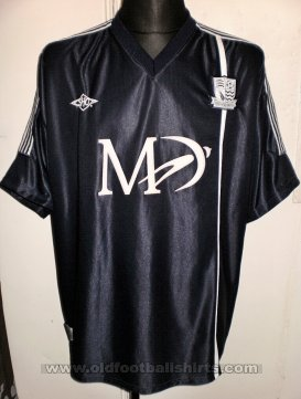 Southend United Home baju bolasepak 2002 - 2003