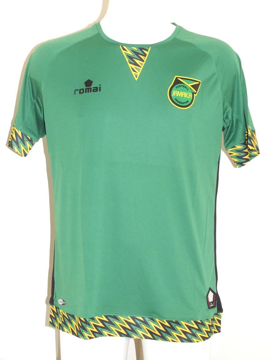04d661bf0 Jamaica Away football shirt 2015 - 2016.