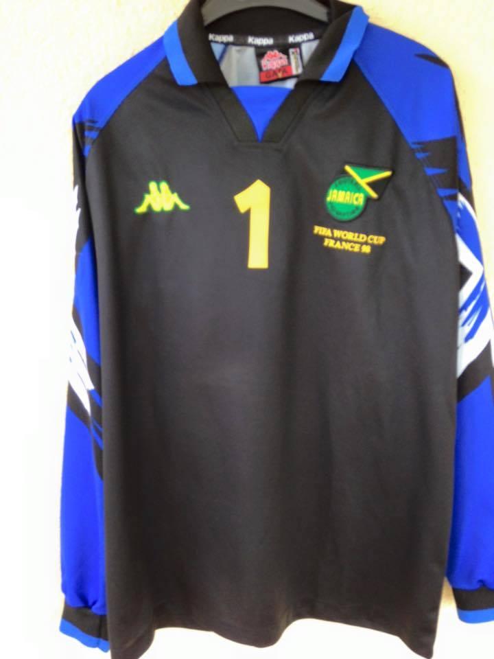 outlet store 4ac0d a9004 Jamaica Goalkeeper football shirt 1998 - 2000.