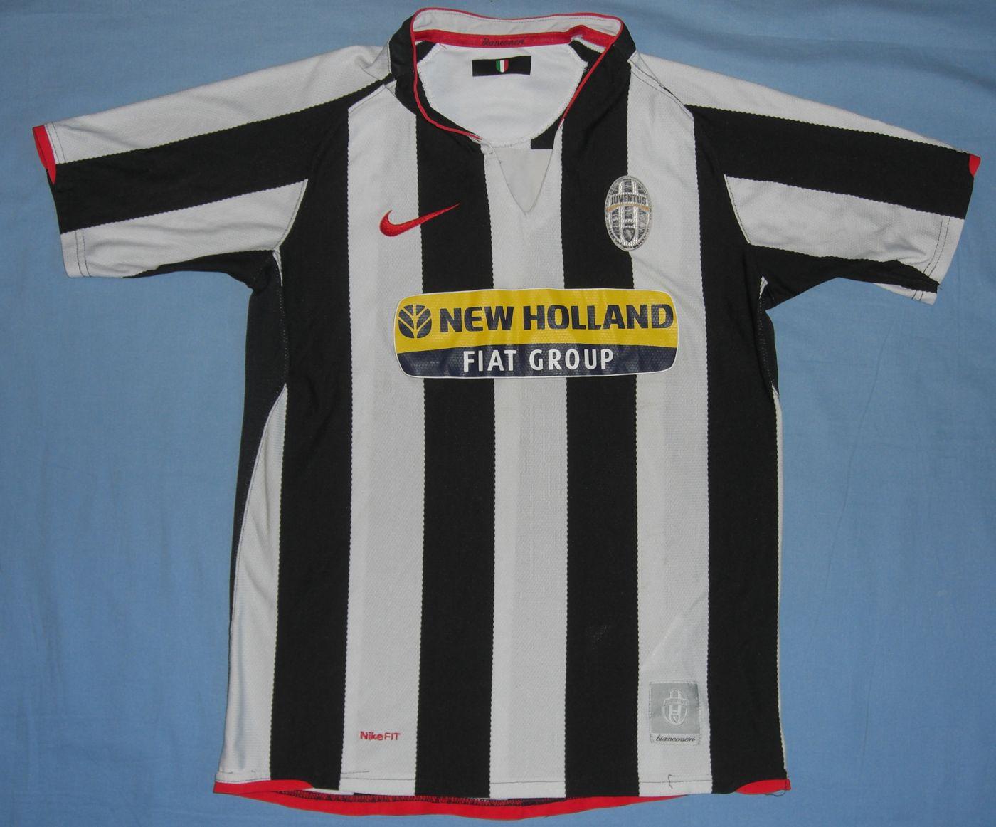 3ab89b05af6 Juventus Home Maillot de foot 2007 - 2008 ...