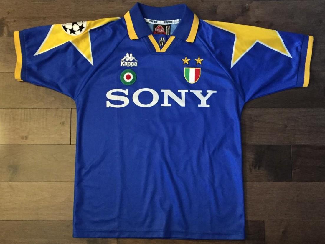 Juventus Maglia da trasferta maglia di calcio 1995 - 1997.