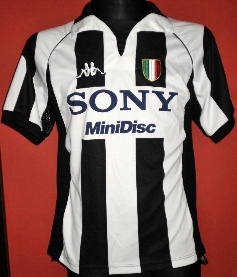Juventus Extrieur Maillot De Foot 1997 1998 Ajout