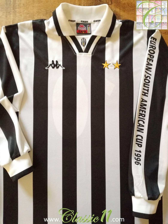 bdaf64cca Juventus Cup Shirt maglia di calcio 1996.
