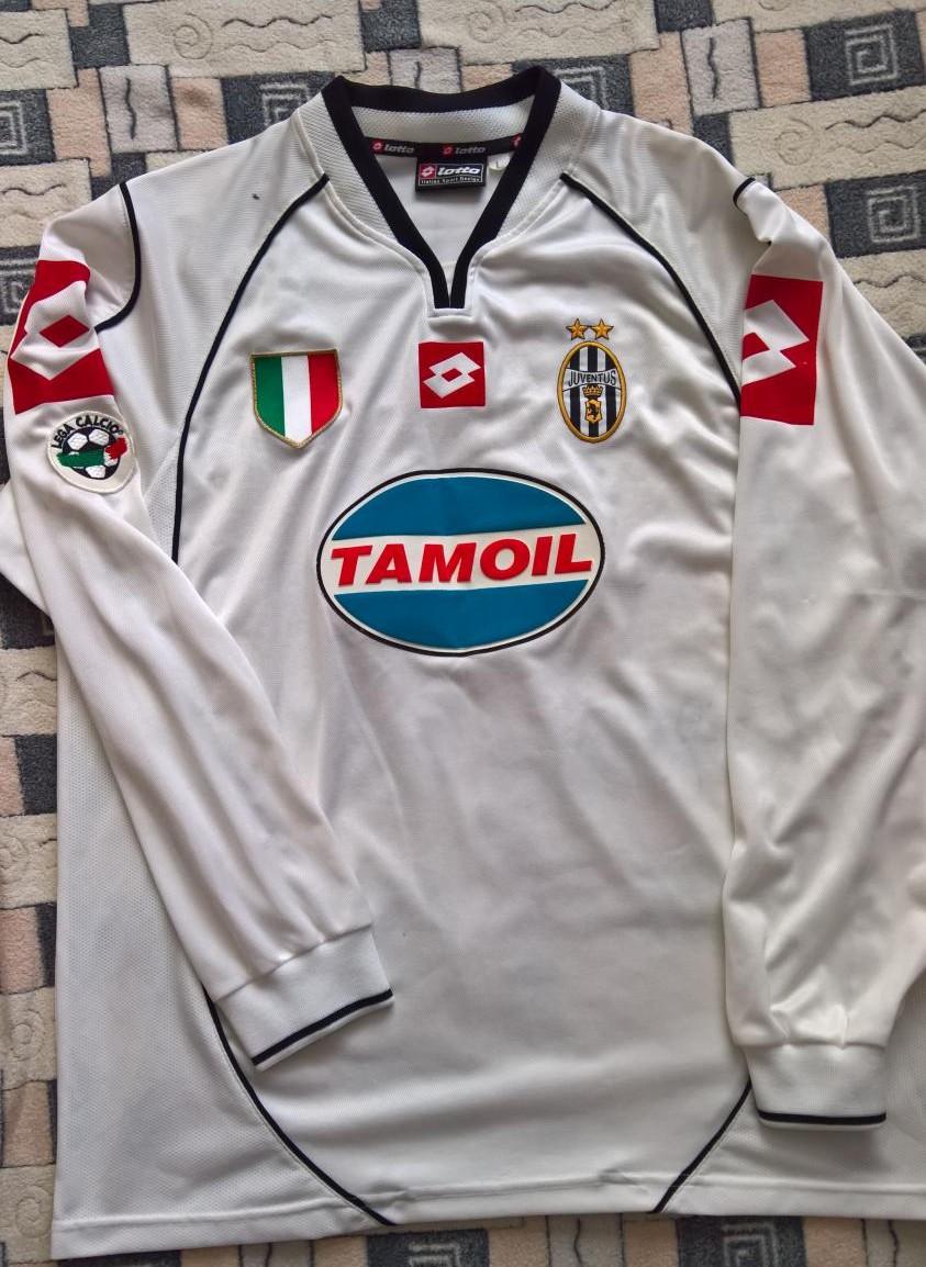san francisco a71eb 71218 Juventus Cup Shirt fotbollströja 2002 - 2003.