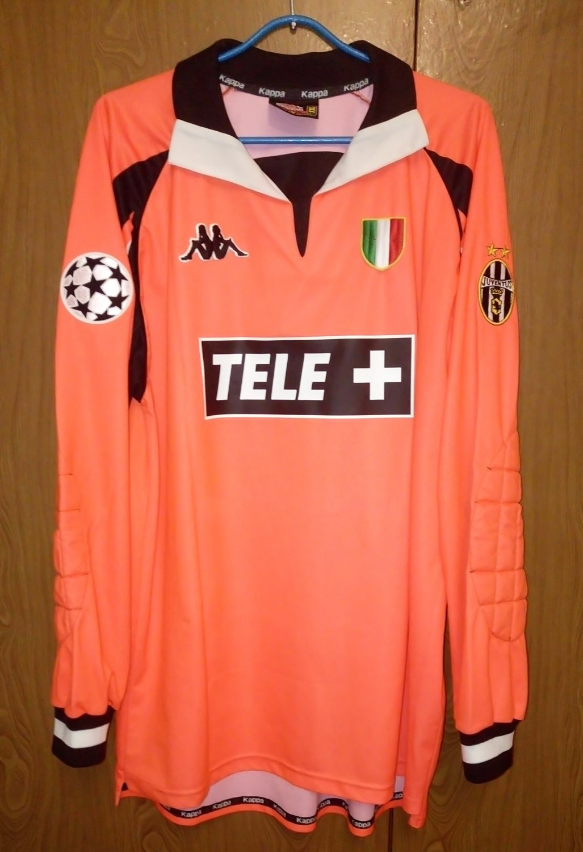 finest selection e51e1 4b7d5 Juventus Goalkeeper football shirt 1998 - 1999.