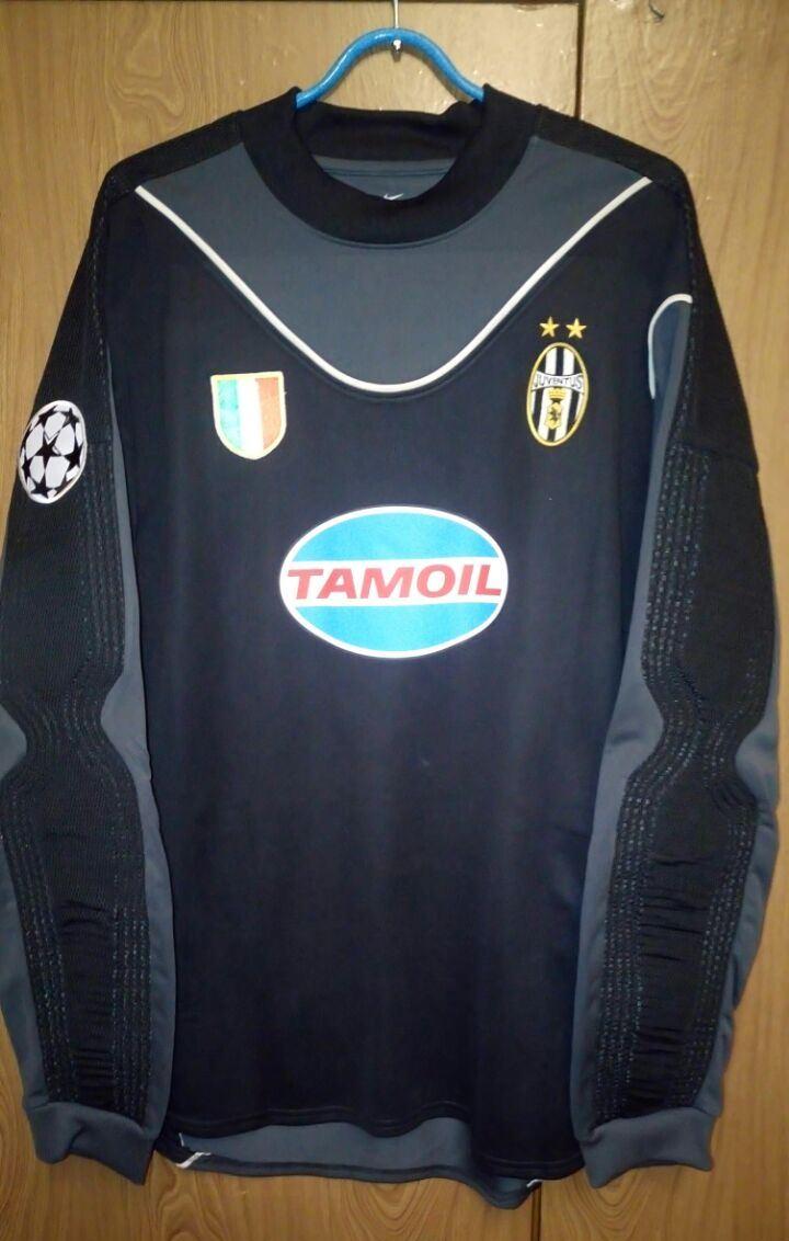 961f1c76f Juventus Goalkeeper maglia di calcio 2003 - 2004.