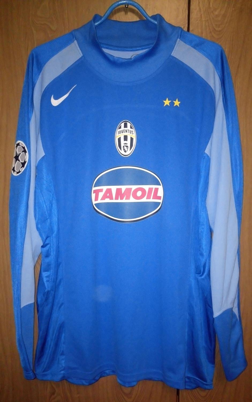 8fef447fa Juventus Goalkeeper maglia di calcio 2004 - 2005.