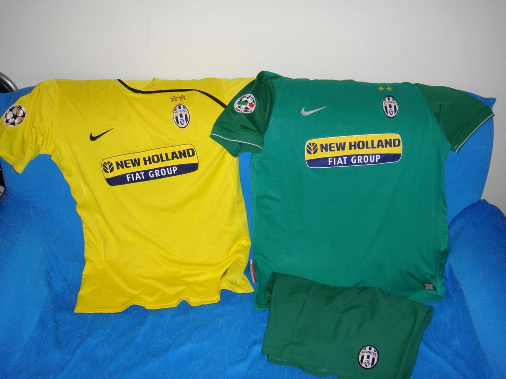b0dc3705e62 Juventus Вратарская футболка 2007 - 2008.