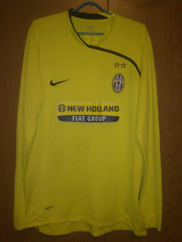 1ec01b4b2b7 Juventus Goalkeeper maglia di calcio 2007 - 2009.