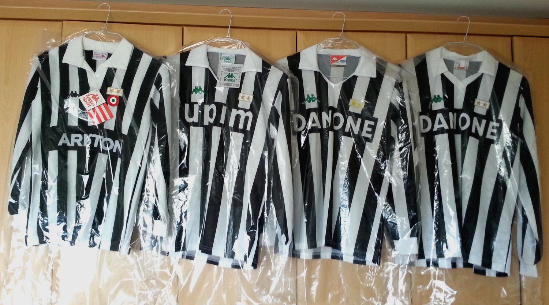 b7a44fe48 Juventus Home fotbollströja 1983 - 1994.