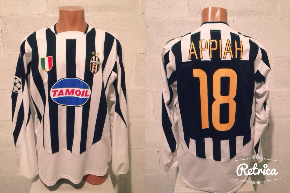 63882e0cfc9 Juventus Home maglia di calcio 2003 - 2004.