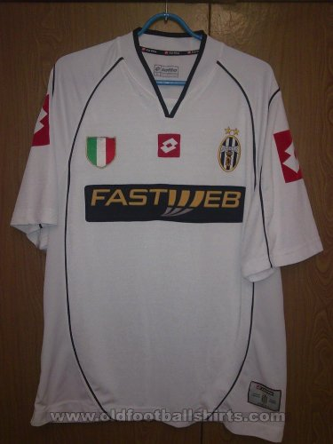 Juventus Away football shirt 2002 - 2003