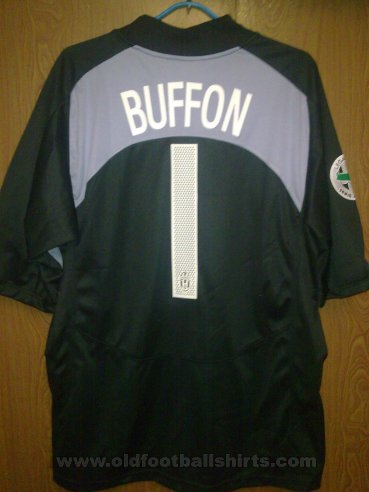 Juventus Goalkeeper футболка 2004 - 2005