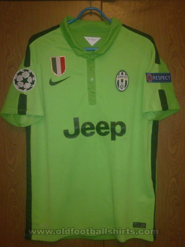 Juventus Third football shirt 2014 - 2015