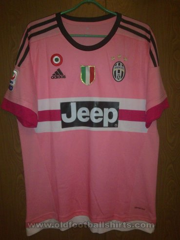 Juventus Away football shirt 2015 - 2016