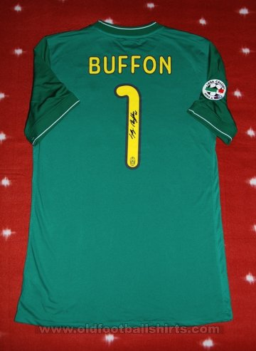 Juventus Goalkeeper football shirt 2009 - 2010