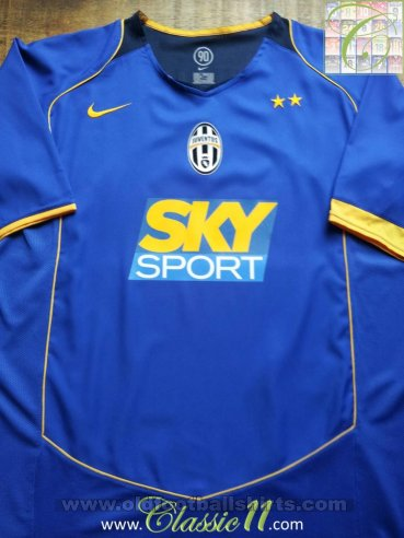 Juventus Away football shirt 2004 - 2005