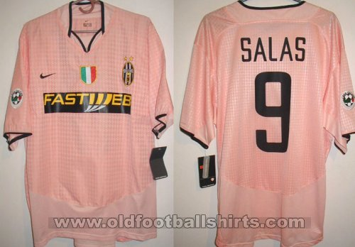 Juventus Away football shirt 2003 - 2004