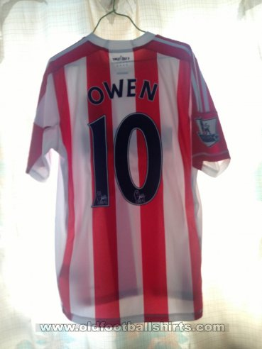 Stoke City Home football shirt 2012 - 2013