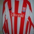 Stoke City football shirt 2003 - 2004