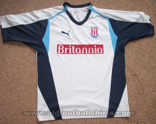 Stoke City Away baju bolasepak 2006 - 2007