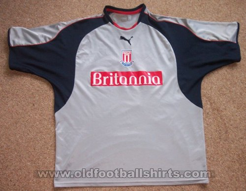 Stoke City Away baju bolasepak 2004 - 2005