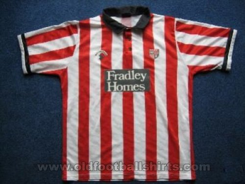 Stoke Home football shirt 1990 - 1991
