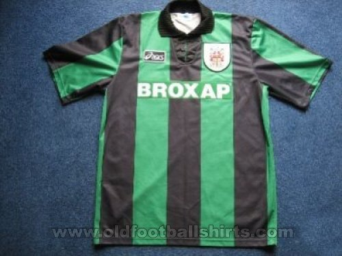 Stoke City Away baju bolasepak 1995 - 1996