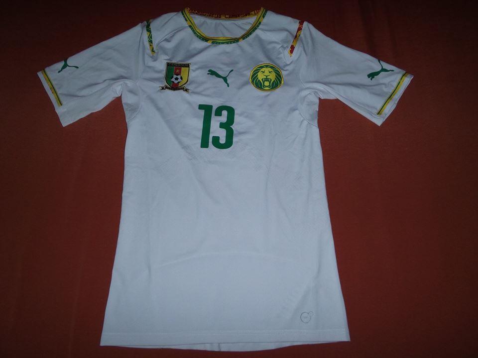 38d45269c Cameroon Away baju bolasepak 2014 - 2016.