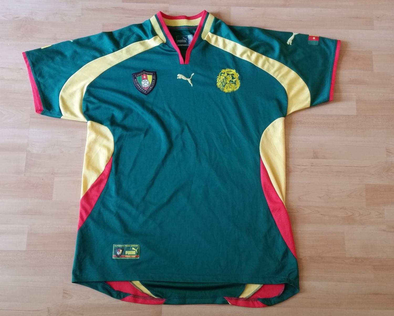 ee0771413c Cameroon Home Maillot de foot 2000 - ?.