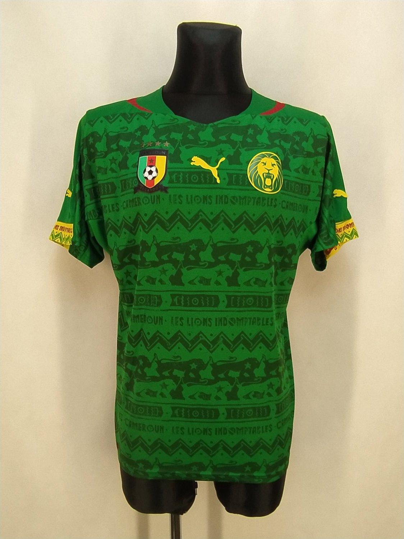 dd8f858876c Cameroon Home maglia di calcio 2014 - 2016.
