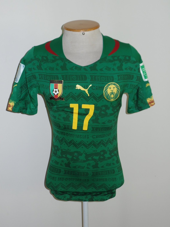 adc4df5f2 Cameroon Home football shirt 2014 - 2016.