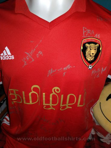 Tamil Eelam Home football shirt 2018