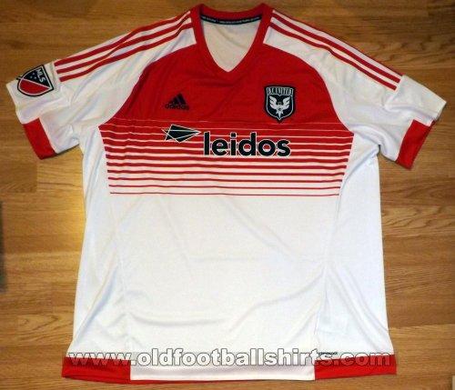new style 6d292 6a860 D.C. United Away camisa de futebol 2015 - 2017.