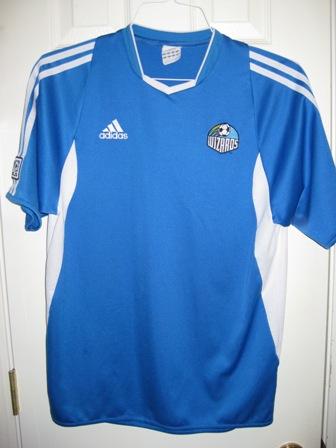 superior quality 3c8b7 54d30 Sporting Kansas City Home Camiseta de Fútbol 2002 - 2004.