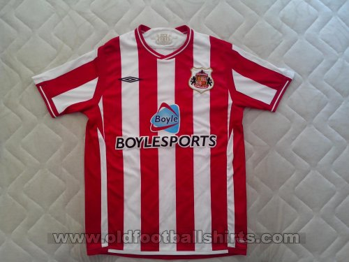 Sunderland Home football shirt 2009 - 2010